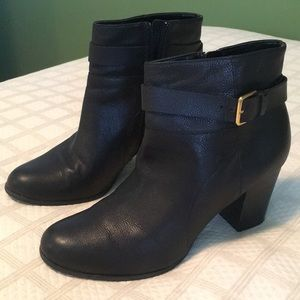 Cole Haan Black GrandOs ankle boots